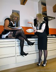 Maid Caught & Punished